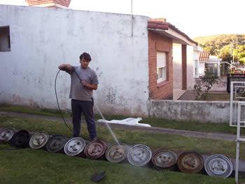 Preparando Llantas